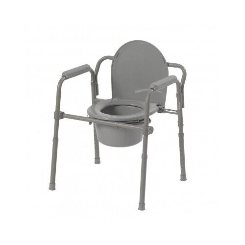 Medical Toilet Chair Portable Folding Bedside Commode