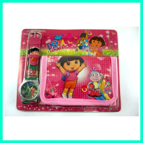Dora Explorer Boots Monkey Children' Wrist Watch