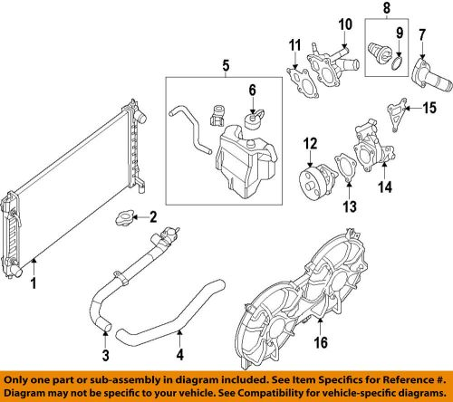 small resolution of details about nissan oem 07 13 altima radiator coolant lower hose 215039ha0a