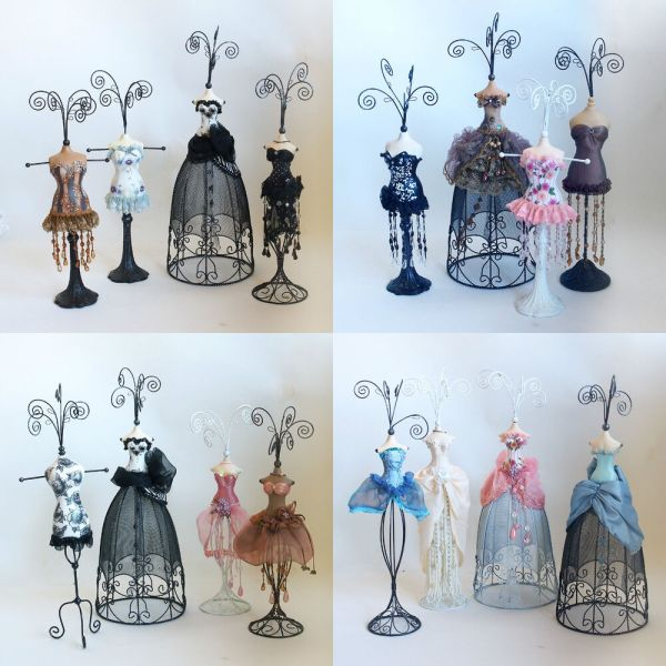 Mannequin Jewellery Stand Necklace Earring Holder Evening