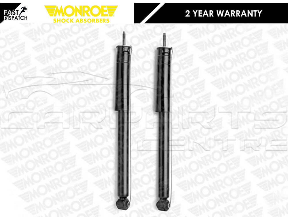 FOR MERCEDES E-CLASS W211 02-08 MONROE REAR PREMIUM GAS