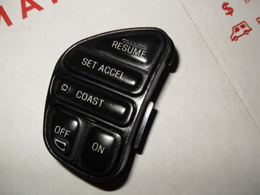 Ford Explorer Truck Steering Wheel Mounted Cruise Control Switch