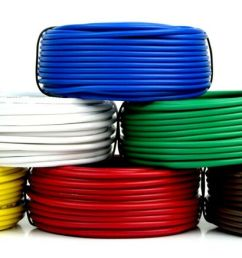 details about 6 way trailer wire light cable for harness 50 ft each roll 16 gauge 6 colors [ 912 x 1000 Pixel ]