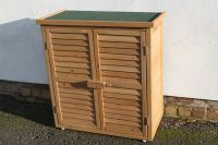 Outdoor Garden Wooden Storage Cabinet or Tool Shed In ...
