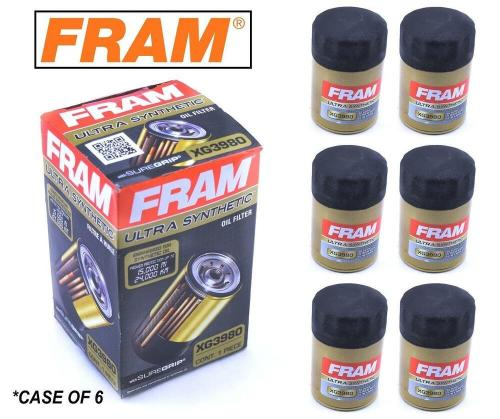 small resolution of details about 6 pack fram ultra synthetic oil filter top of the line fram s best xg3980