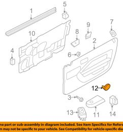details about ford oem 06 09 mustang door reflector 6r3z6323820a [ 1000 x 798 Pixel ]