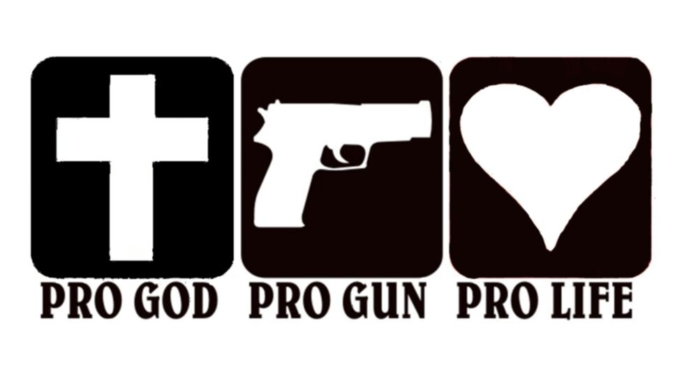 Image result for pro-life pro-gun