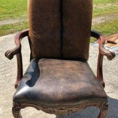Sell Office Chairs Rocking Chair Cushions Outdoor Cowhide Arm Hair On Hide Western Accent | Ebay