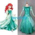 Princess Ariel the Little Mermaid Wedding Dress Costume