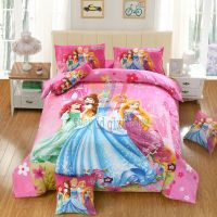 DISNEY FIVE PRINCESS 7PCS TWIN FULL QUEEN SIZE COMFORTER ...