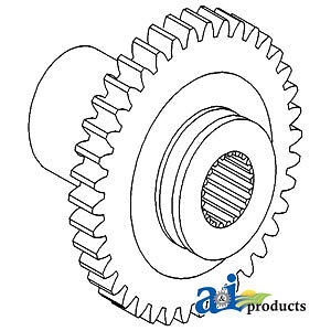A-532906M4 Massey Ferguson Parts PTO GEAR 20, 20C, 20D