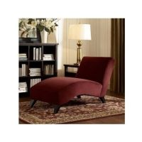 Chaise Lounge Chair Upholstered Fabric Living Room ...