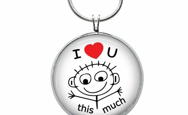 I Love You Necklace Love Gift Gifts For Her Jewelry
