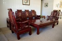 Superb Chinese Rosewood Living Room Furniture With Pearl ...