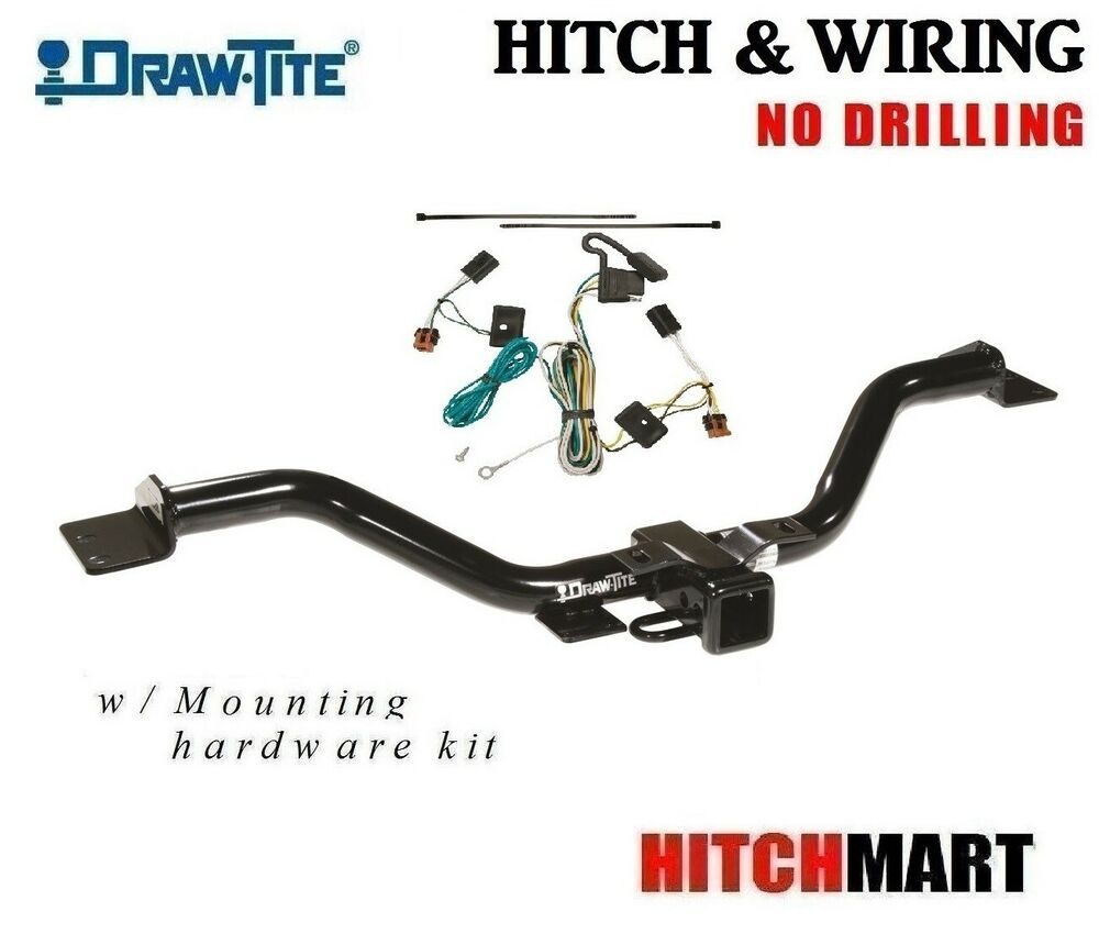 hight resolution of details about class 3 trailer hitch wiring for 2007 2012 gmc acadia 2 tow receiver 75528