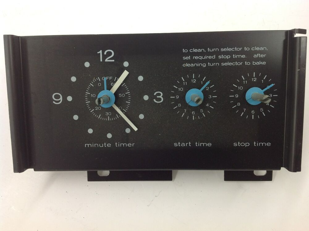 Fef366ccb Electric Range Timer Stove Clocks And Appliance Timers
