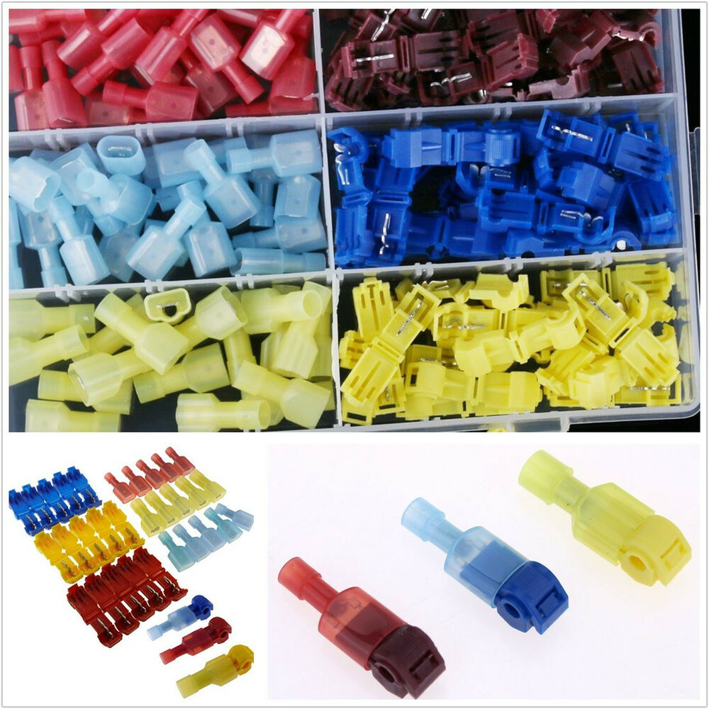 hight resolution of details about 30set car audio quick splice lock wire terminals connectors electrical crimp kit
