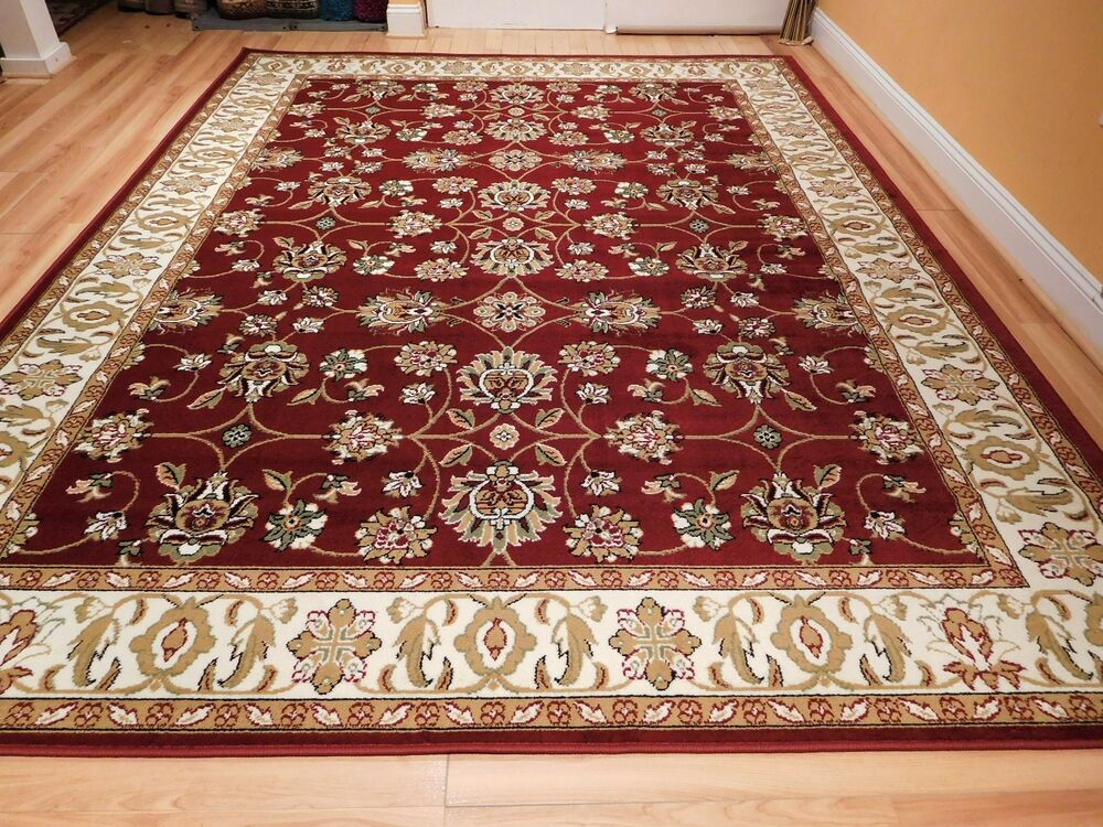 Large Traditional 8x11 Oriental Area Rug Persian Rugs 5x8