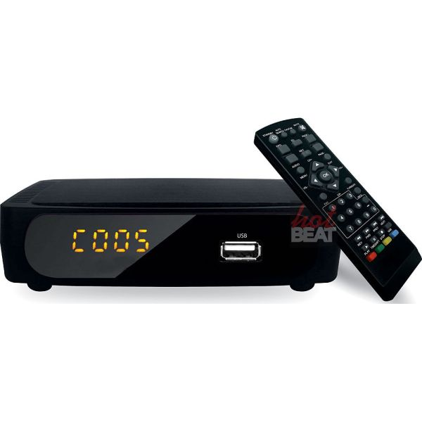 Coby Cstb-600 Usb Multimedia Player Digital Converter Box Standard Analog Tv 812180025779