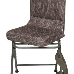 Swivel Hunting Chairs Chair Covers Hire Leeds Banded Blind Pad Seat Stool Realtree Bottomland Camo Tall! 848222087092 | Ebay
