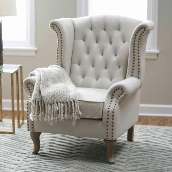 Wingback Accent Chairs for Living Room