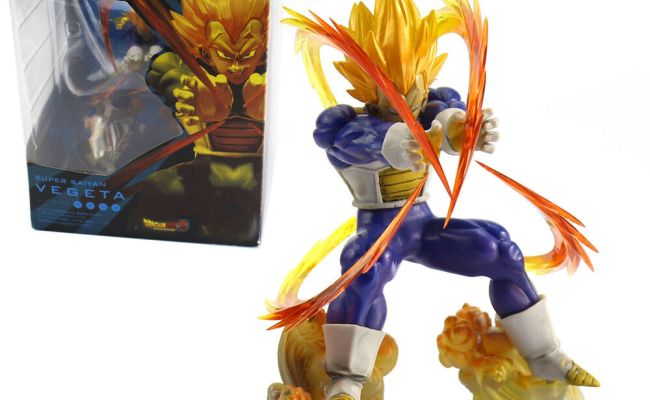 Anime Dragon Ball Zero Dbz Super Saiyan Vegeta Pvc Loose