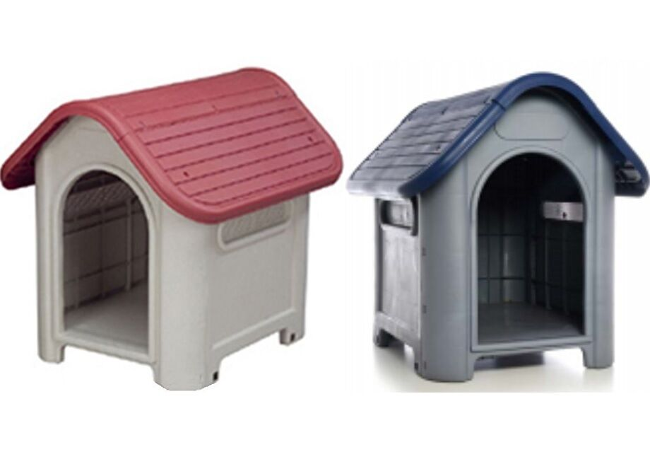 Indoor Outdoor Dog House Small to Medium Pet Doghouse Puppy Shelter 2Colors  eBay
