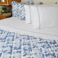 3 Piece Bedspread Comforter Matching Sham Set Key West