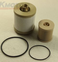details about new diesel fuel filter fd4604 fd4616 for ford f250 f350 f450 6 0 powerstroke [ 1000 x 1000 Pixel ]