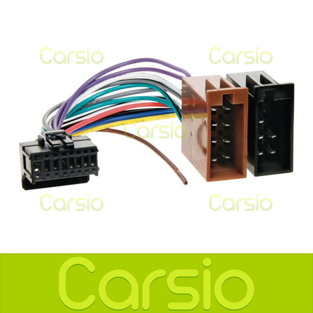 hight resolution of details about pioneer deh p70bt iso wiring harness connector adaptor lead loom cable wire plug