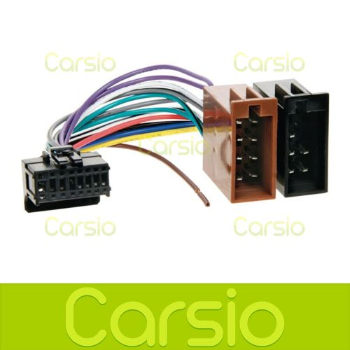 small resolution of details about pioneer deh p70bt iso wiring harness connector adaptor lead loom cable wire plug