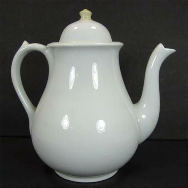 Wedgwood & White Ironstone 8 Cup Coffee Pot Teapot