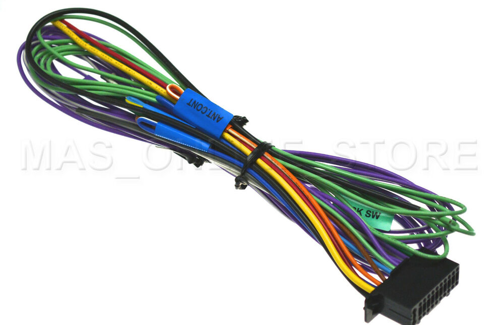 Kenwood Wiring Harness Diagram On Kenwood Ddx7017 Wiring Harness