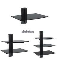 1~3 Floating Wall Mount Shelf DVD TV Component Rack AV