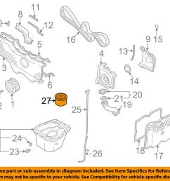 details about subaru oem 90 12 legacy engine oil filter 15208aa12a [ 1000 x 798 Pixel ]