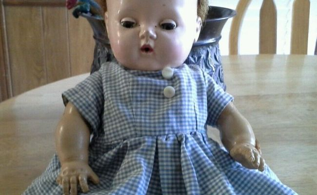 1950 S Vintage American Character Doll Co Acdc Tiny Tears
