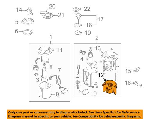 small resolution of subaru oem 09 13 forester 2 5l h4 fuel filter 42072ag140 ebay