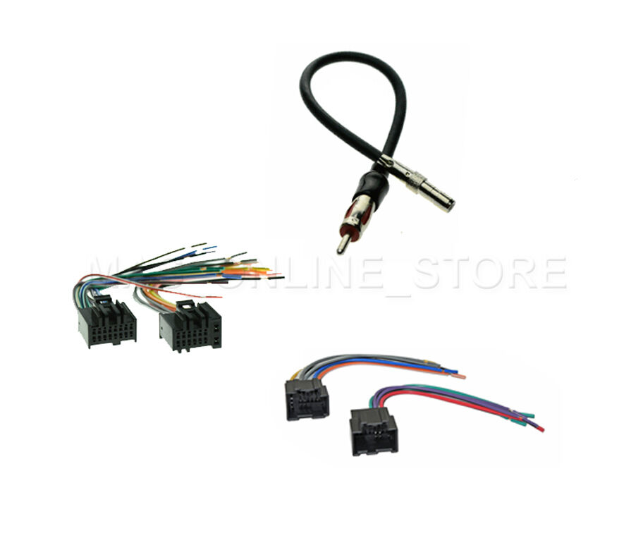 Car Radio Stereo Male Female Wire Harness Antenna Adapter