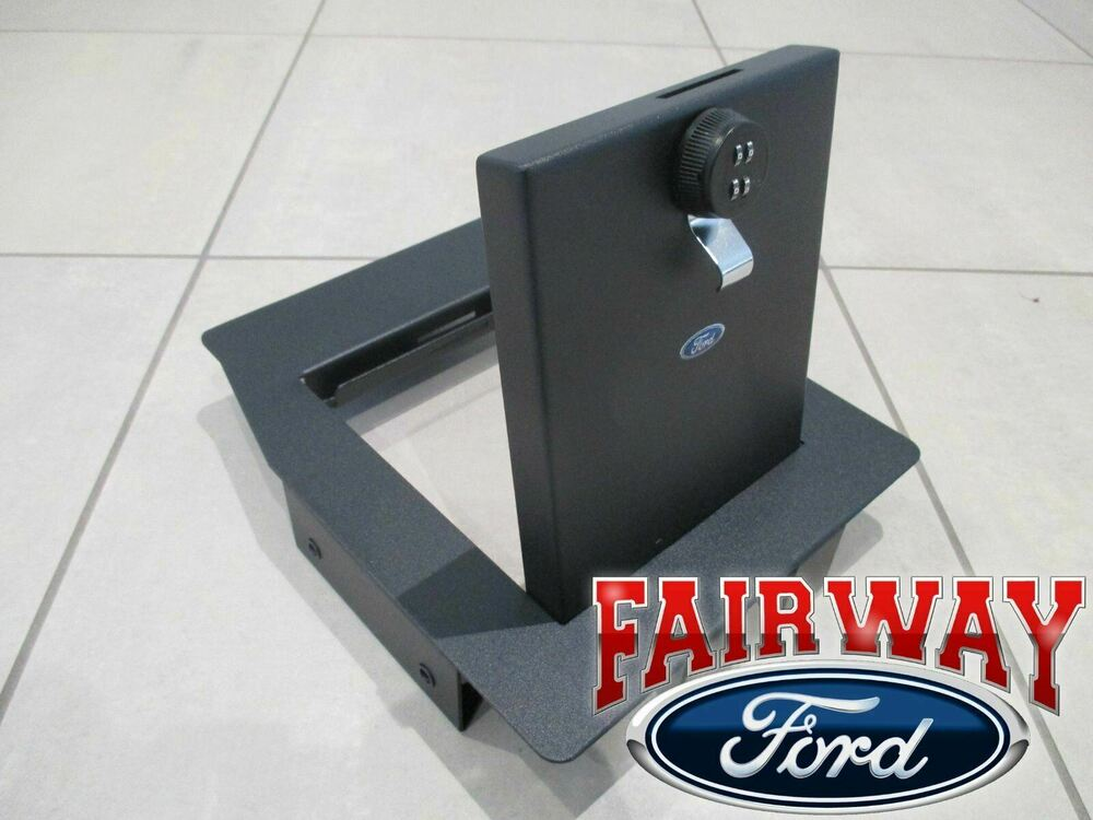 17 Super Duty Ford Console Combination Security Vault Gun