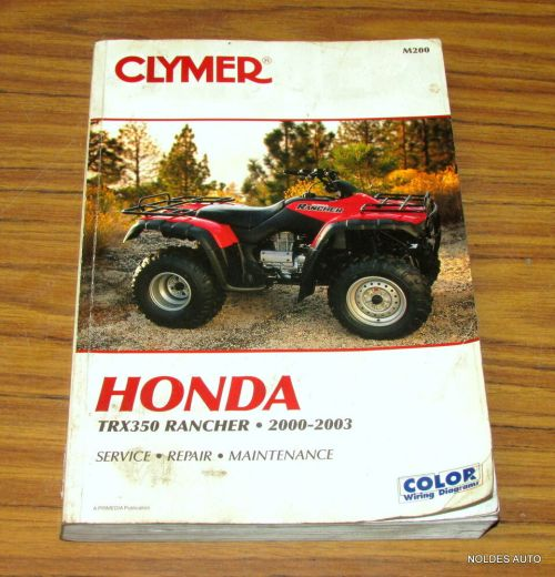 small resolution of  honda rincon wiring color schematic on