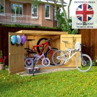 Wooden Bike Storage Shed Garden Bicycle Store Outdoor ...
