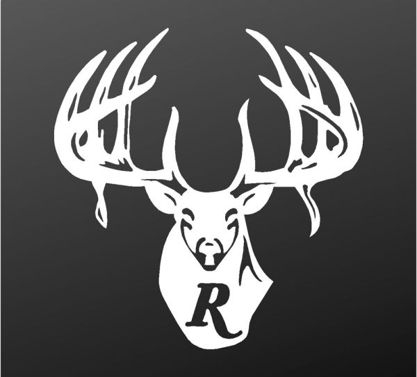 Remington Country Vinyl Decal Car Truck Window Buck Logo