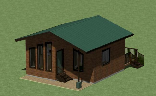 Tiny House Plans 400 Sq Ft With Free Greenhouse Plans Ebay
