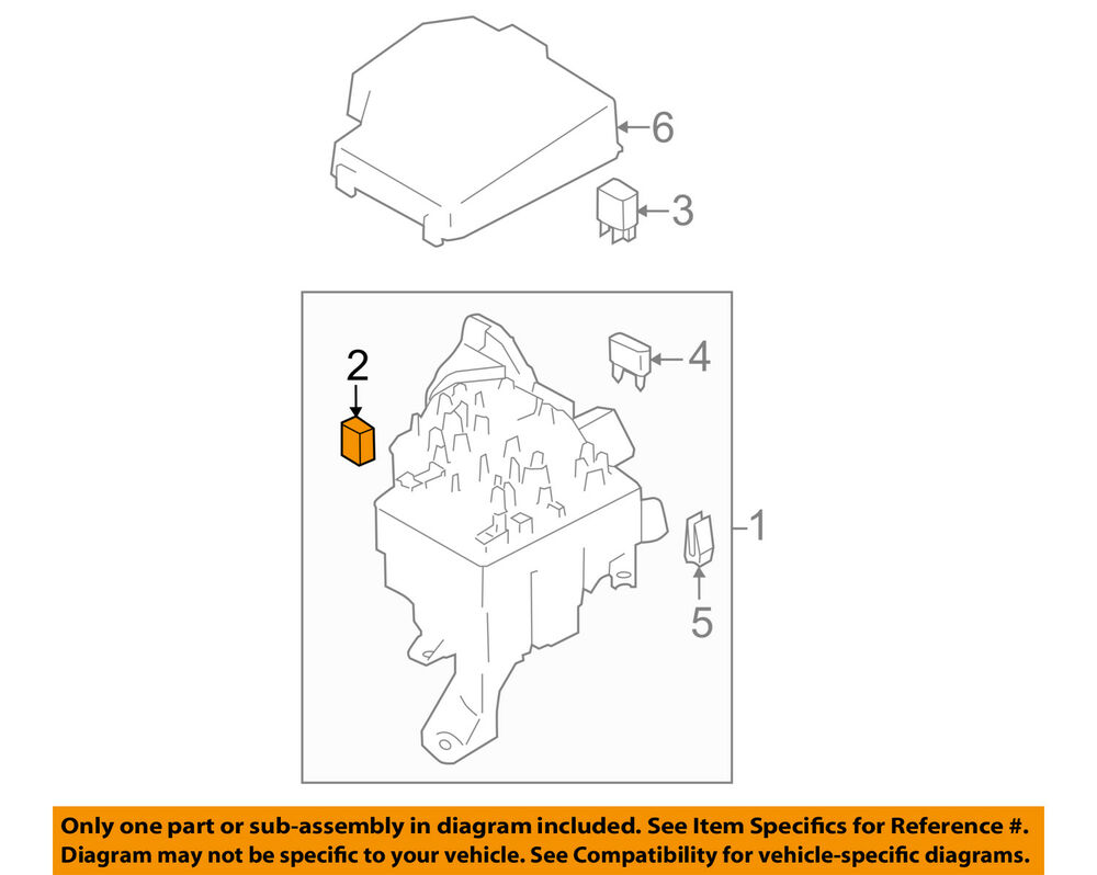 hight resolution of details about subaru oem 13 15 brz 2 0l h4 fuse relay main fuse 82211ca010