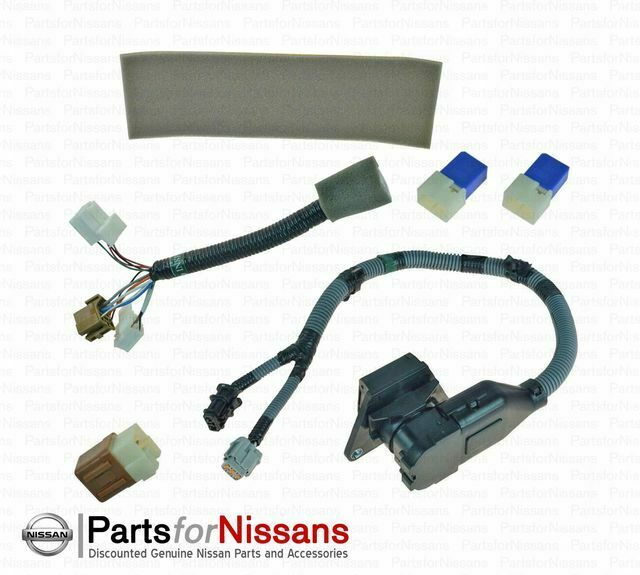hight resolution of  nissan frontier genuine nissan 2015 2017 frontier tow harness 7 pin 999t8 br020