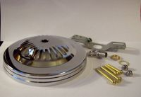 "5"" CHROME FINISH CEILING CANOPY KIT FOR LIGHT FIXTURES ..."