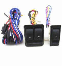 details about 12v 12 volt car electric power window master control switch with wiring harness [ 1000 x 1000 Pixel ]