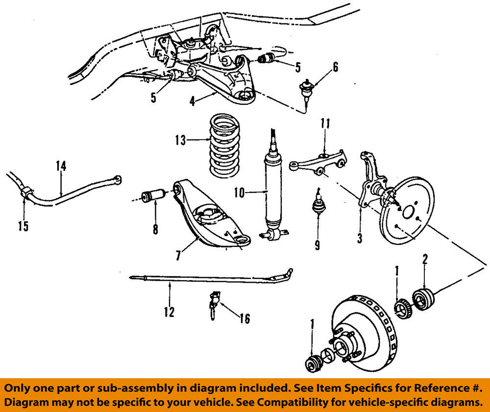 hight resolution of details about dodge chrysler oem 84 93 ramcharger front upper control arm 52059038