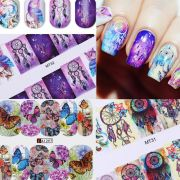12patterns water decals nail art