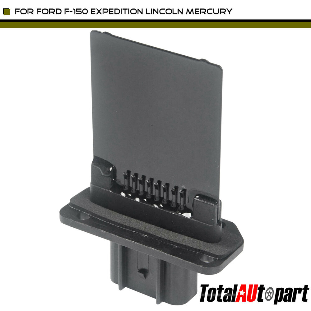 hight resolution of details about heater blower motor resistor for ford expedition f 150 fiesta freestar mustang